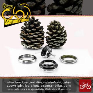 کاسه دوشاخ دوچرخه وی پی مدل بی 101 ای سی ساخت تایوان مشکی VP Bicycle Headset B101AC