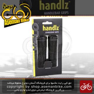 گریپ سردسته دوچرخه برند ولو مدل وی ال جی 1541 ای دی 2 آلن خور قفلی Velo Handlz Handlebar Grips VLG 1541AD2