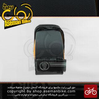 کیف زیر زین دوچرخه بی تی بی مدل تویچ نارنجی BTB Bicycle Saddle Bag Twitch