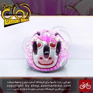 کلاه دوچرخه سواری بچه گانه جاینت مدل کوب گرل سایز 44-50 صورتی Giant Bicycle Helmet Kids Cub Girl Pink
