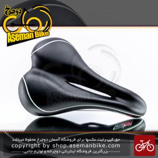 زین دوچرخه ژل طبی ولو اند زون ساخت تایوان مدل وی ال 3362 Velo Endzone Saddle GEL Professional Soft Road MTB Seat VL-3362