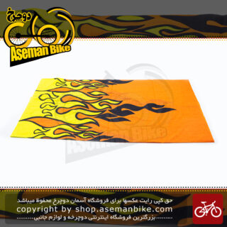 دستمال سر و گردن اسکارف طرح فایر 1003 Scarf Fire Design 1003