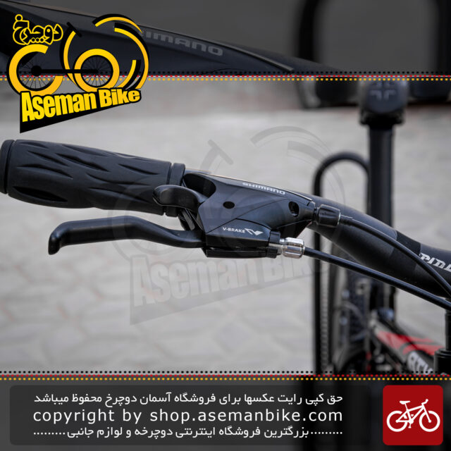 دوچرخه حرفه ای کوهستان جاینت مدل ای تی ایکس الیت کاستوم مشکی قرمز سایز 26 Giant Mountain Bicycle ATX Elite Custom 26