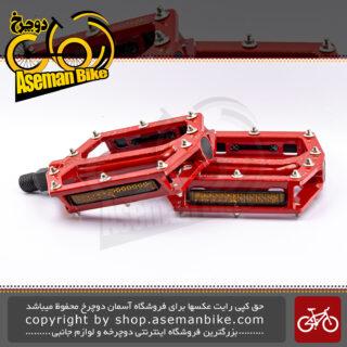 پدال دوچرخه کوهستان جاینت قرمز روشن GIANT Original MTB Pedals Core Red