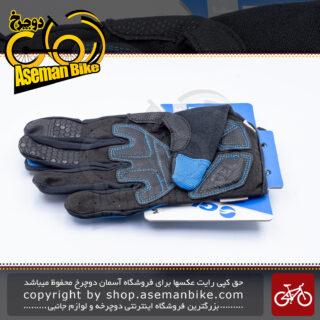 دستکش دوچرخه سواری جاینت مدل استریک ال اف ال اف تمام پنجه Giant Bicycle Glove Streak LF