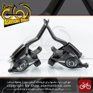 ست دسته دنده و ترمز دوچرخه هایبایک 21 سرعته ایندکس سیستم HIBIKE Bicycle Brake Lever Shifter Index System