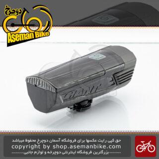 چراغ جلو دوچرخه جاینت مدل مامن اچ ال وان ساخت تایوان 130 لومن ضد آب Giant Bicycle Lights MUMEN HL1