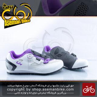 کفش دوچرخه سواری جاینت لیو مدل فاما سایز 39 مشکی بنفش Giant LIV Shoes FAMA 39