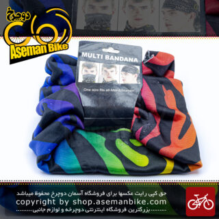 دستمال سر و گردن اسکارف مولتی باندانا 10201 Multi Bandana Scarf 10201