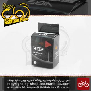 تیوب دوچرخه کوهستان وایب سایز 26 در 2.135 تا 2.35 مدل 645 وی 5 والو پرستا VIBE MTB Bicycle Tube 645V5