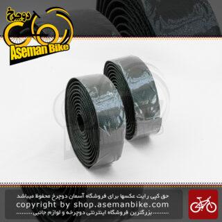 نوار فرمان دوچرخه کورسی جاده وایب مدل آناکاندا 3113 مشکی VIBE Onroad Bicycle Handlebar Tape Anaconda 3113