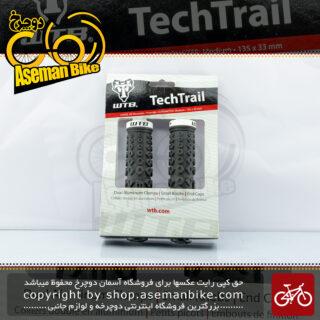 گریپ سردسته دوچرخه کوهستان دبلیو تی بی آمریکا مدل تک تریل WTB Bicycle Handlebar Grip TechTrail