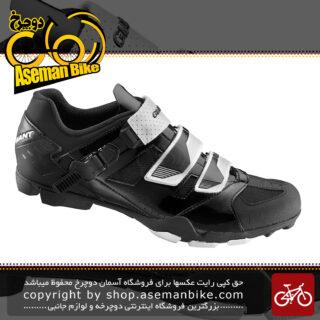 کفش دوچرخه سواری قفل شو با قابلیت پیاده روی کوهستان جاینت مدل ترنسمیت دو منظوره مشکی Giant Bicycle Transmit MTB Shoes Black