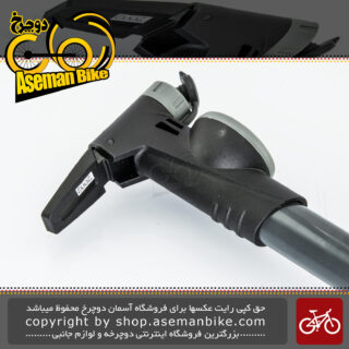 تلمبه دستی دوچرخه انرژی ساخت تایوان درجه دار ۱۲۰ پی اس آیر سوپلای مدل جی پی 991 Mini Pump Bicycle Energy Air Supply Gp-991 Clever Valve With Gauge