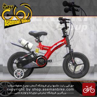 دوچرخه کودک بچگانه اورلرد مدل قناری فلاییگ بیر سایز 16 کمکدار Overlord Bicycle Kids Full Suspension 16