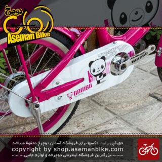 دوچرخه آلومینیومی دخترانه بچگانه رامبو سایز ۱۶ مدل پاندا ۱۶۱۳۰ RAMBO Bicycle Children Bike Size 16 Model 16130