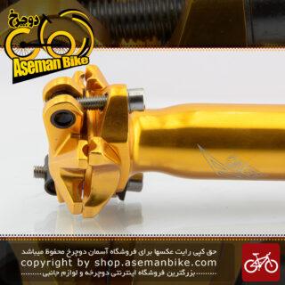 لوله زین دوچرخه آزونیک آلومینیوم قطر 31.6 انبه ای ساخت امریکا AZONIC Bicycle Seat-post America