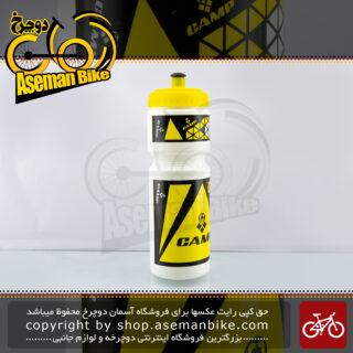 بطری آب دوچرخه کمپ مدل هگزاگون زرد 75 سی سی CAMP Bicycle Bottle Hexagon 750cc Yellow