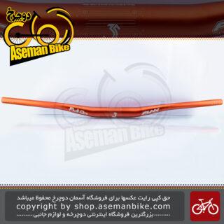 فرمان دوچرخه دانهیل/کوهستان فان مدل فول-آن ای دی 24001 آلومینیوم 6069 سه لایه قطر 35 میلیمتری FUNN FULL-ON MTB Bicycle Handlebar ED24001