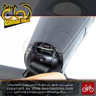 چراغ جلو دوچرخه اوکی شارژی 500 لومن مدل اکس سی 222 ای 6 وات OK Bicycle Head Light Rechargeable 500 Lumen 6 Watt XC-222A