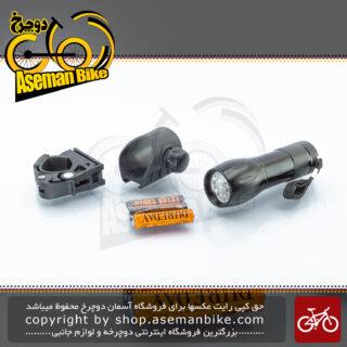 چراغ جلو دوچرخه اوکی 9 لامپ ال ای دی ضد آب مدل اکس سی-722 ای OK Bicycle Front Light Water-Proof XC-722A