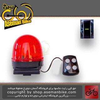 ست چراغ و بوق دوچرخه بچه گانه اوکی مدل پلیسی اکس سی 408 OK Kids Bicycle Light\Horn XC-408