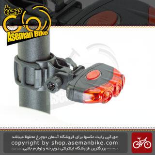 چراخ خطر عقب دوچرخه اوکی مدل اکس سی 170 آر شارژی لامپ ال ای دی ضد آب OK Bicycle Rear Light XC-170R Water-Proof Rechargeable