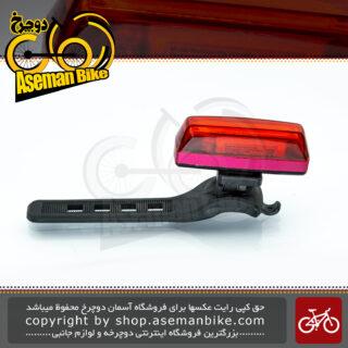 چراخ خطر عقب دوچرخه اوکی مدل اکس سی 238 آر شارژی لامپ ال ای دی ضد آب OK Bicycle Rear Light XC-238R Water-Proof Rechargeable