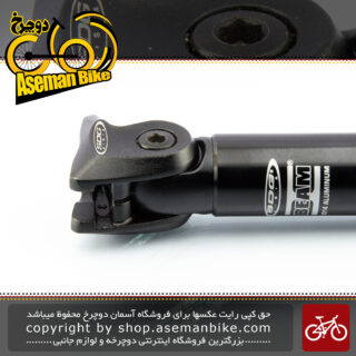 لوله زین دوچرخه اس دی جی مدل بیم مخصوص زین های ریل خطی مشکی ساخت کالیفورنیا SDG Bicycle Seat-post Beam California