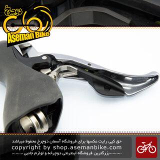 ست دسته دنده کتی دوچرخه کورسی شیمانو مدل 105 اس ال آر 10 سرعته SHIMANO On-road Bicycle Shift/Brake Lever Left-Right SLR 105