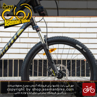 دوچرخه کوهاستان جاینت مدل تالون 3 2020 سایز 27.5 رنگ مشکی و خردلی Giant Bicycle talon 3 2020 size 27.5 black & mustard