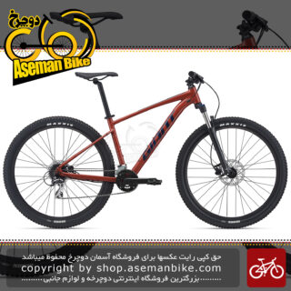 دوچرخه کوهستان جاینت مدل تالون ۲ سایز ۲۷٫۵ رنگ مسی ۱۶ سرعته ۲۰۲۱ GIANT MTB BICYCLE TALON 2 27.5 16S 2021 Red Clay UK