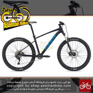 دوچرخه کوهستان جاینت مدل تالون 1 سایز 27.5 مشکی آبی 10 سرعته 2021 Giant MTB Bicycle Talon 1 27.5 10s 2021 Black/Blue