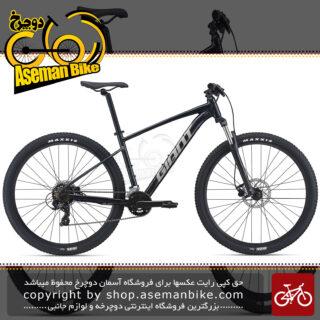 دوچرخه کوهستان جاینت مدل تالون 3 سایز 27.5 رنگ مشکی متالیک روشن 14 سرعته ۲۰۲۱ GIANT MTB BICYCLE TALON 3 27.5 14S 2021 Metallic Black UK