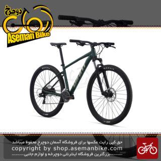 دوچرخه کوهستان جاینت مدل تالون 3 سایز 27.5 رنگ سبز متالیک 14 سرعته ۲۰۲۱ GIANT MTB BICYCLE TALON 3 27.5 14S 2021 Metallic Green UK