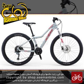 دوچرخه زنانه بانوان کوهستان شهری کی تی ام اتریش مدل الترا 5.65 سایز 24 دنده شیمانو ساخت تایوان سال 2020 KTM Bicycle Mountain ULTRA 5.65 LADY 27.5 2020 24 Speed 2020