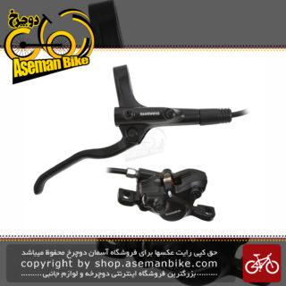 مجموعه ست جلو و عقب ترمز دیسک هیدرولیک روغنی دوچرخه شیمانو مدل ام تی 200 ام تی 200 SHIMANO Hydraulic Disc Brake BL-MT200 3 Finger Alloy Lever Disc Brake BR-MT200 2-Piston MTB Caliper