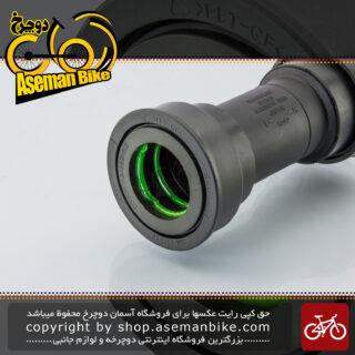 توپی تنه دوچرخه شیمانو پرس فیت مدل اس ام بی بی 72 - 41 بلبرینگی Shimano Bicycle Bottom Bracket Press Fit SM-BB72-41B For Road