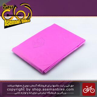 بارانی مخصوص ورزش و دوچرخه سواری پانچو سبک وزن مدل آندرکاور 017 صورتی Poncho Cycling Sport Wear Light Weight Under-cover Pink 017