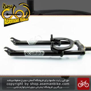 دوشاخ دوچرخه کوهستان کمک فنر دار ردو مدل آر اکس 1 سایز 26 مشکی Reddo Bicycle Suspension Fork RX1 26 Black