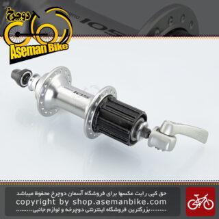 توپی عقب دوچرخه کورسی جاده شیمانو ژاپن سری 105 مدل 5600 Shimano Japan On-road Bicycle Rear Hub 105 FH-5600