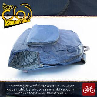 کوله پشتی ورزشی دوچرخه سواری فوق سبک وزن قابلیت گنجایش کم چاینا بگ 2213 کاربنی China Bag Sport Bicycle Bag Ultra Light Weight 2213