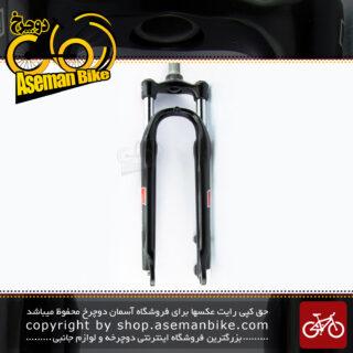 دوشاخ کمک فنر دار دوچرخه کوهستان سایز 27.5 اس آر سانتور مدل ام 3030 مشکی SR Suntour MTB Bicycle Suspension Fork M3030 Black