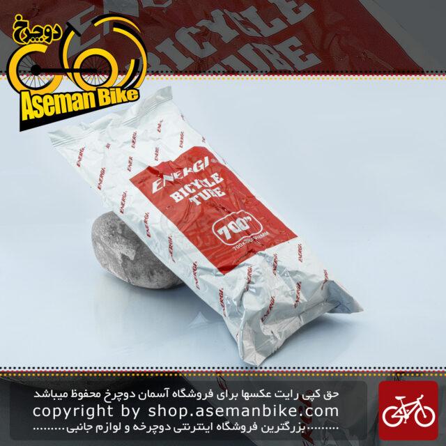 تیوب دوچرخه برند انرژی سایز 700 والف فرنچ Bicycle Tube ENERGI Size 700x35CFV48MM