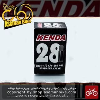 تیوب دوچرخه برند کندا سایز 28 والف موتوری ساخت ویتنام Bicycle Tube KENDA Size 28x1-1/2
