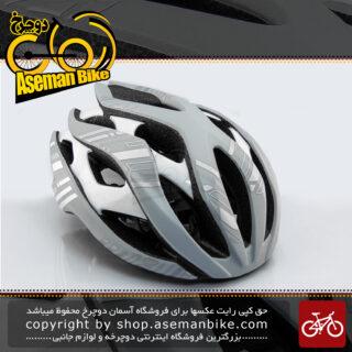 کلاه دوچرخه سواری جاینت مدل ریو لیو خاکستری سایز 61-55 سانتی متر Giant Bicycle Helmet REV LIV Gray size 55-61cm