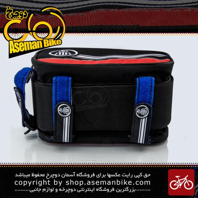کیف روی تنه دوچرخه بی تی بی دارای جیب جانبی مدل گرینی قرمز BTB Bicycle Saddle Bag Greny Red