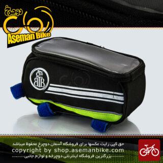 کیف روی تنه دوچرخه بی تی بی مدل گرینی سبز BTB Bicycle Saddle Bag Greny Green