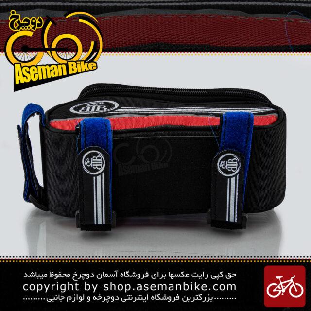 کیف روی تنه دوچرخه بی تی بی مدل گرینی قرمز BTB Bicycle Saddle Bag Greny Red
