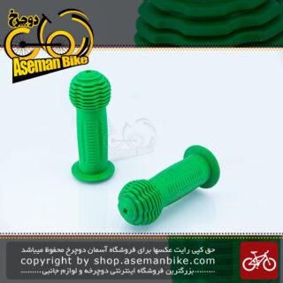 گریپ دوچرخه بچه گانه کد بی-878 سبز Kids Bicycle Grip B-878 Green